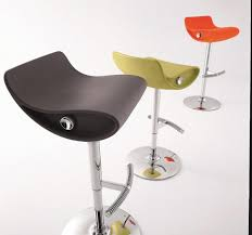 contemporary bar stools. Contemporary Momo Swivel Bar Stool By Compar In Red, Black Or White Stools