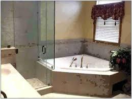 corner bath with shower helloblondieco