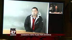 Larry Nassar's wife files for divorce ...