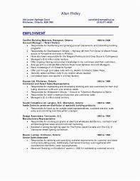 Job Resume Sample Lovely Sample Resume For Job New Simple Resume