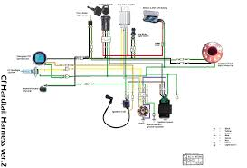 pit bike wiring harness pit image wiring diagram 140 lifan pit bike wiring diagram jodebal com on pit bike wiring harness