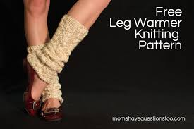 Free Patterns For Leg Warmers Best Decorating Design