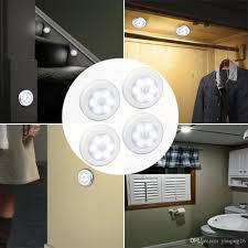 motion sensor light cordless battery powered led night light closet