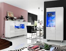 display units for living room sydney. sydney display cabinet in high gloss white with led lights_4 units for living room