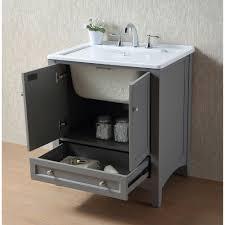 outdoor utility sink beautiful stufurhome 30 inch grey laundry utility sink free today