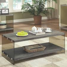 77 most great mirrored coffee table iron oak glasetal tables set amazing steel