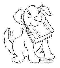 Dogs Printable Coloring Pages For Kids