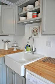 E White Beadboard Bathroom Mirror Using In A Small How To  Put On Kitchen Cabinets Subway Tile Backsplash Ideas Putting Up