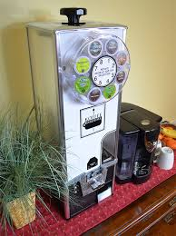 Keurig K Cup Vending Machine Stunning Koffee Karousel KCup Vending Machine 48Quarter Coin Mechanism