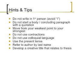 essay writing hints tips advice for top marks 18
