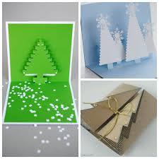 Roundup 9 Folded Paper Christmas Tree Christmas Card