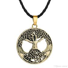 whole men and women vintage bronze gothic punk fashion jewellery pendants rhinestone necklace charm pendant necklaces accessories jewelry picture