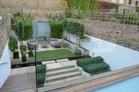 Small Picture This contemporary family garden is strikingly beautiful