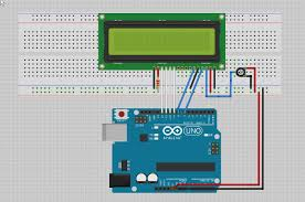 how to connect an lcd to the arduino arduino to lcd wiring diagram