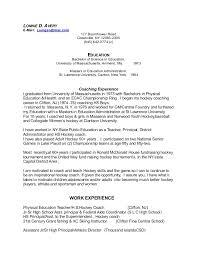 Cover Letter For Physical Education Teacher Magdalene
