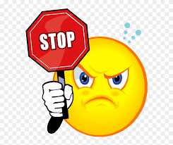 Online Clipart Stop Clipart Angry Stay Safe Online Gifs Free Transparent Png