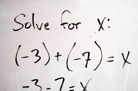 solve math word problems algebra that lead to simple linear equations solver college