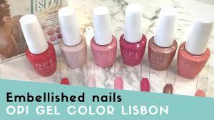Opi Gel Colour Lisbon Swatches