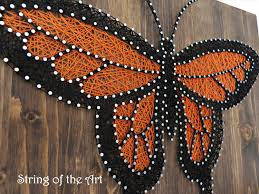 Butterfly String Art Kit Adult Crafts Kit DIY String Art | String ...