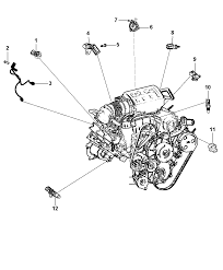 2012 dodge durango sensor engine