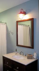 nautical bathroom lights. Fantastic Design Of Nautical Bathroom Decoration : Nice Vanities For Blue Theme With Cool Lights