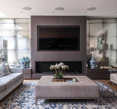 Mirrors Living Room Modern Living Room Photos Antiqued Mirror Alcoves To Fireplace
