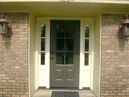 white entry doors with sidelights. Modern Style White Front Door With Sidelights This Color Which I Think Pulls The Window Above Entry Doors