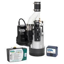 backup sump pump options.  Sump Basement Watchdog 12 HP Big Combination Unit With Special Backup Sump Pump  System In Options U