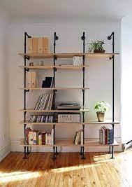 Apabila anda menginginkan tema industrial yang akan diaplikasikan pada rak buku tersebut anda dapat memberikan kerangka desainnya pada pembuat rak buku. Inspirasi Rak Buku Untuk Koleksi Buku Kesayangan Dewata Mebel Bali