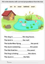 Preposition Worksheet - Switchconf