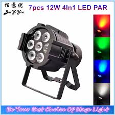 How To Get Good Lighting For Indoor Photos Us 378 1 5 Off 8pcs Lot Good Quality Mini Stage Wash Light 7pcs 12w Rgbw 4in1 Led Indoor Aluminum Black Case Mini Par Can Light 7x12w In Stage