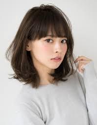 桐谷美玲さん風大人女性のミディアムse210 ヘアカタログ髪型