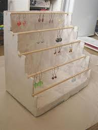 Earring Display Stand Diy