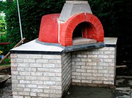 pizza oven before stucco
