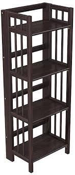home office bookshelf. Plain Bookshelf StonyEdge Folding Bookcase Easy Assembly Bookshelf For Home Office  Storage 16u201d With C