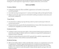Technical Skills Examples For Resume Resume Letter Collection