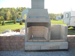 how to build outdoor fireplace with cinder blocks beautiful cinder block outdoor fireplace concrete block outdoor