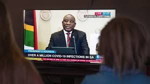 The latest tweets from @cyrilramaphosa Covid South Africa S Ramaphosa Announces New Restrictions As Cases Soar Bbc News
