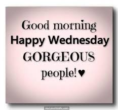 Hump Day Quotes Fascinating Good Morning Happy Wednesday Gorgeous People Good Morning Wednesday