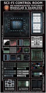 sci fi ceiling texture. Fireclown Sci-fi Control Room Textures Sci Fi Ceiling Texture