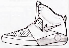 nike shoes drawings. sneaker sketch of the week // mark smith\u0027s nike air yeezy concept | sole collector shoes drawings