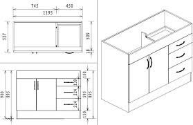 Adorable Kitchen Cabinet Dimensions Corner Sink