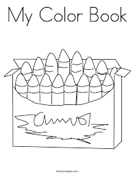 Small Picture My Color Book Coloring Page Twisty Noodle