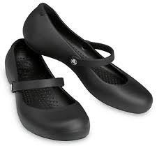crocs office. Crocs Alice Work Womens Ladies Croslite Mary Jane Office Kitchen Shoes  Black UK 7 Crocs Office