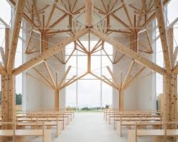 architecture. Yu Momoeda Uses Fractal Geometries To Create Tree-inspired Chapel In Japan Architecture