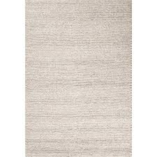 jaipur rugs scandinavia dula 9 x 12 textured wool rug in gray