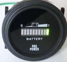 36 volt battery meter 36 volt battery meter gauge forklift solar sys trolling motor golf
