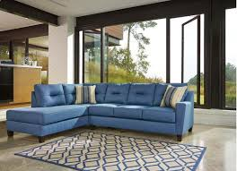 Kurwin Nuvella Collection 16 Sectional with Stain Resistant