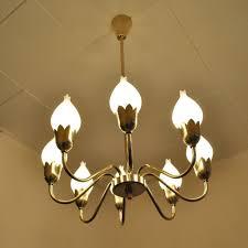 lighting hanging. Tulip Chandelier Hanging Lamp By Ansgar Fog \u0026 E. Mørup For Mørup, 1960s Lighting