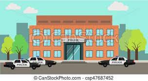 police station building clipart.  Police Police Station Building  Csp47687452 On Station Building Clipart O